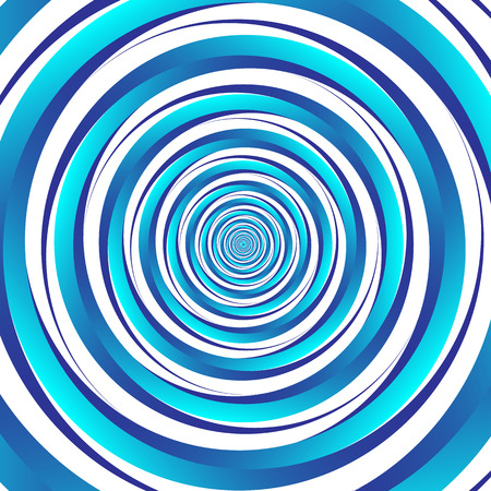 spiraling: Concentric - converging circles. Abstract vortex, spiraling graphics.