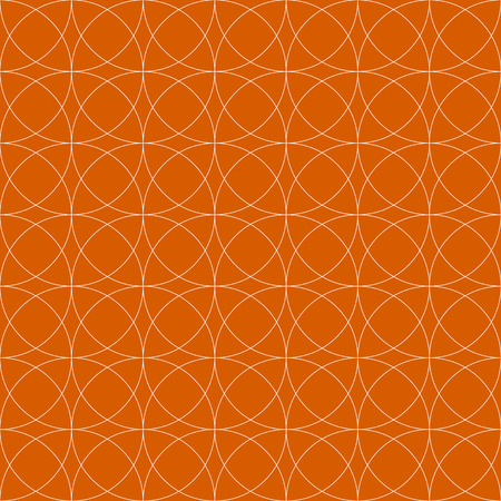 repeatable: Colorful repeatable pattern with circles. Thin outlines.