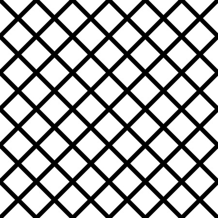 grillage: Seamlessly repeatable grid, mesh pattern. Simple lattice, grillage texture. Vector. Illustration