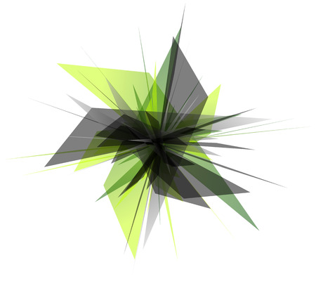 Abstract edgy, geometric graphics. Shatters, splinters abstract digital art. Ilustração Vetorial