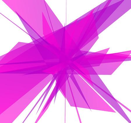 splinters: Abstract edgy, geometric graphics. Shatters, splinters abstract digital art.
