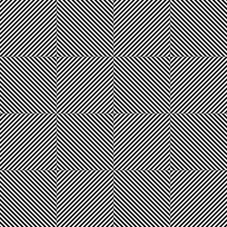 eyestrain: Repeatable pattern w squares. Great contrast, alternating black-white segments.