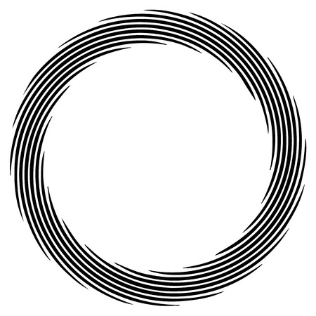 circulos concentricos: Abstract spirally element. Spinning, vortex graphic. Concentric circles.