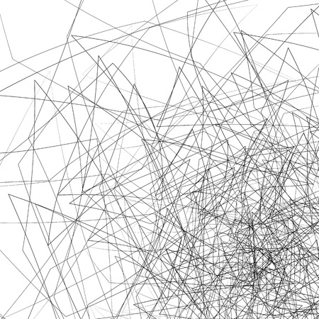 intersecting: Random chaotic lines. Intersecting edgy, angular lines.