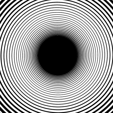 gyration: Abstract spiral element. monochrome twirl, swirl shape, snaky, curvy graphic Illustration