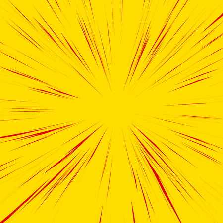 vanish: Abstract background with radial, radiating, converging lines. Explosion, warp, zoom effect. Illustration