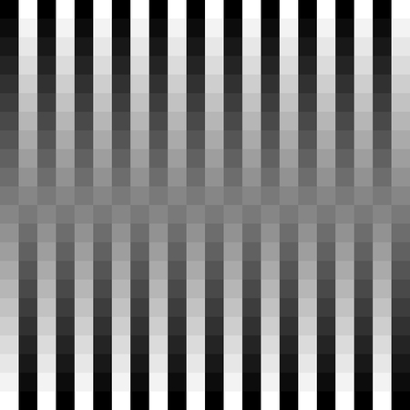 pixelation: Squares, blocks abstract monochrome geometric pattern, background, texture. Seamlessly repeatable Illustration