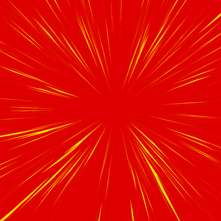 epicentre: Abstract background with radial, radiating, converging lines. Explosion, warp, zoom effect. Illustration