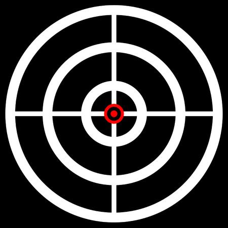 cheveux Croix, repère, réticule. Graphics pour la chasse, la précision, arme à feu, visant, en ciblant les concepts.