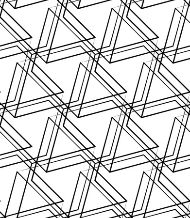 grid pattern: Grid, mesh seamless monochrome pattern. Intersecting lines. Illustration