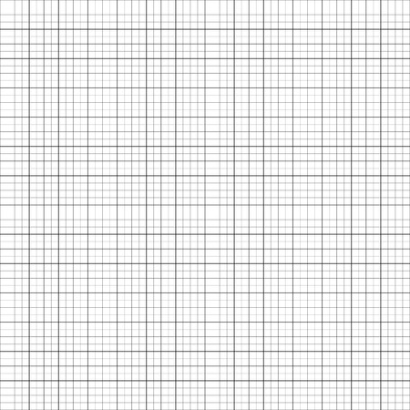 millimeter: Graph, millimeter paper background. Blank grid, mesh background with units. Seamless pattern for design, engineering, architect, planning, design concepts. Illustration