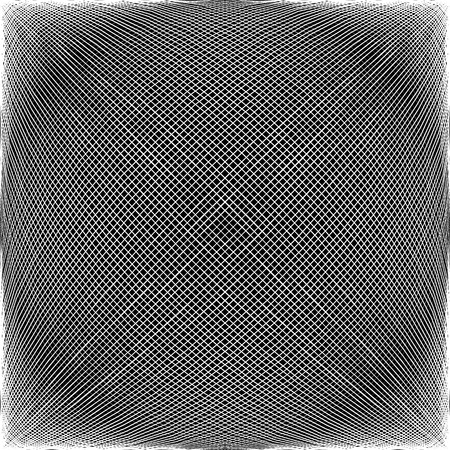 camber: Spherical, globular intersecting lines. Grid, mesh with convex distortion