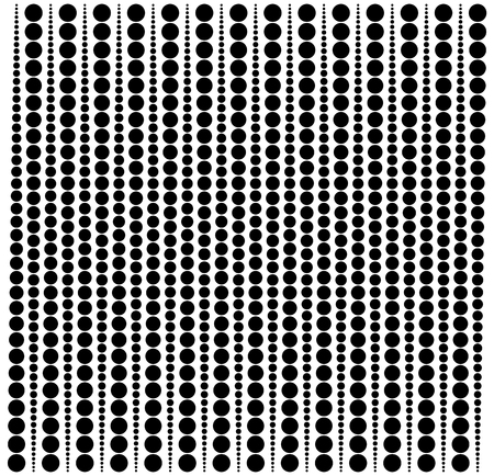 half tone: Abstract dotted (half tone) monochrome pattern, background