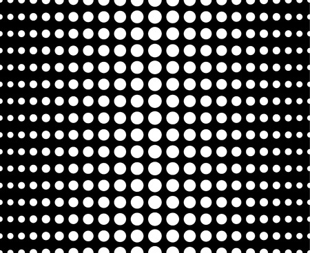 polkadots: Abstract dotted (half tone) monochrome pattern, background