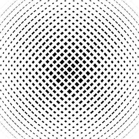 camber: Grid, mesh pattern with slight convex effect. Square format abstract lattice, grating backdrop Illustration