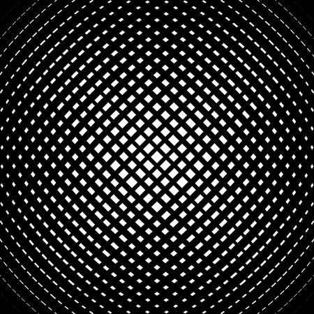 convex: Grid, mesh pattern with slight convex effect. Square format abstract lattice, grating backdrop Illustration