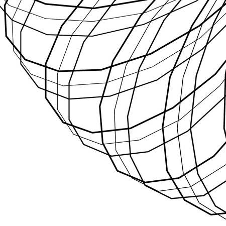 adjusted: Square format background with intersecting, angular lines. Full motif clipped, can be adjusted.