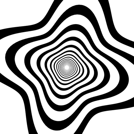 mesmerize: Abstract spirally background  element. Abstract monochrome vortex, whorl, twirl graphic. Circular lines pattern.