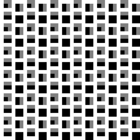 cellular: Repeatable pattern with squares. Geometric cellular grid, mesh pattern. Illustration