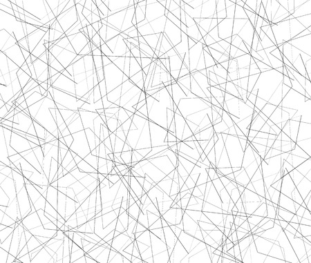 inverse: Entangled texture of thin intersecting lines. Abstract monochrome, black and white background