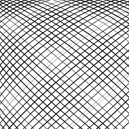 convex: Grid, mesh, intersecting lines pattern with convex distortion. Lines are irregular.