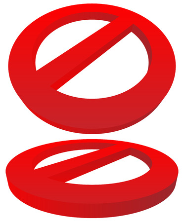 do not enter warning sign: Prohibition, restriction sign. Red no entry, do not enter sign(s) on white. Caution, warning, keep away sign.