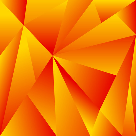 crystallization: Polygonal background with triangle shapes. Crystallized effect. Illustration