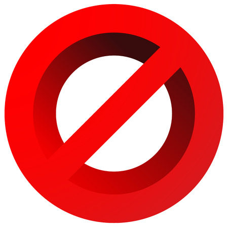 restriction: Prohibition, restriction sign. Red no entry, do not enter sign(s) on white. Caution, warning, keep away sign.