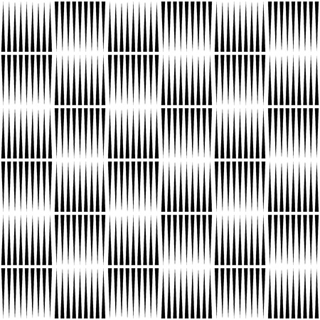 pointed: Pointed lines repeatable seamless pattern. Monochrome abstract background. Illustration