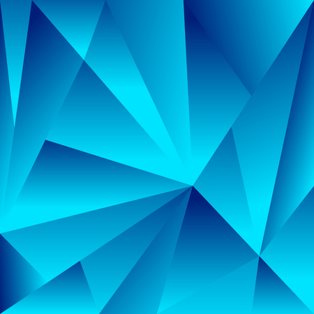 crystallized: Polygonal background with triangle shapes. Crystallized effect. Illustration