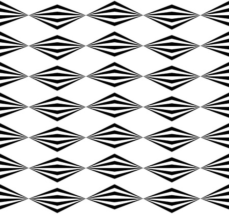 crinkly: Abstract twisted geometric pattern - Seamlessly repeatable edgy monochrome background.