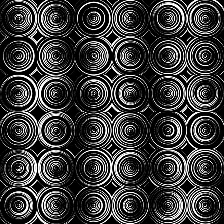 abstractionism: Concentric circles monochrome abstract background. radiating circles, rings.