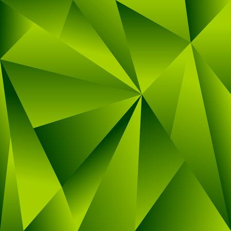 fragmentation: Polygonal background with triangle shapes. Crystallized effect. Illustration
