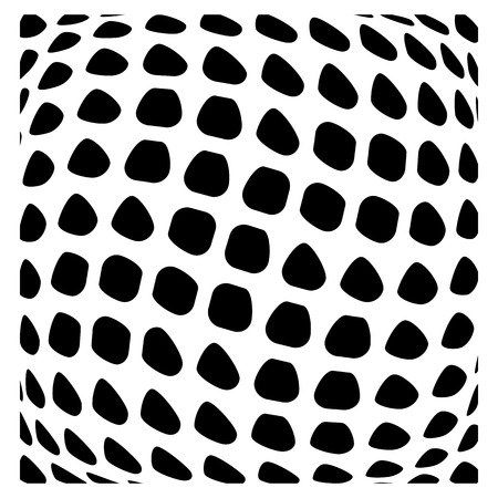 misshapen: Mesh of squares with distortion effect. Simple artistic element. Other versions in my portfolio.