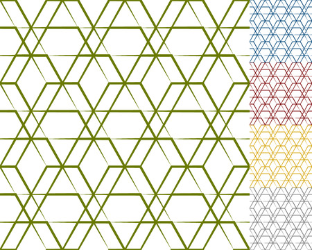 grid background: Grid, mesh geometric seamlessly repeatable pattern, monochrome background, texture Illustration