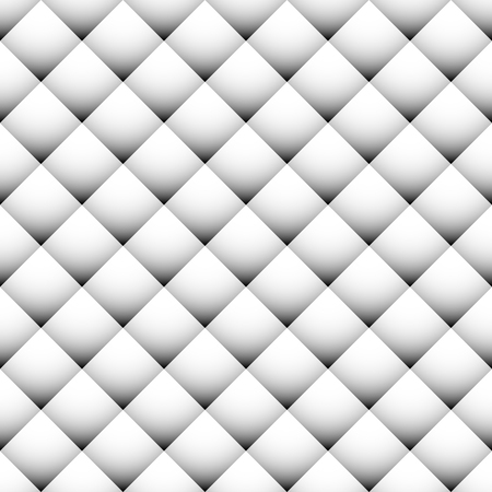 revetment: Seamlessly repeatable geometric pattern with shaded, regular squares. Revetment, surface, upholstery pattern. Illustration