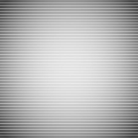 patrón de líneas de exploración. monitor de vacío, tv, pantalla de la cámara. líneas rectas paralelas fondo perfectamente repetible. Lineal, telón de fondo lineal. Ilustración de vector