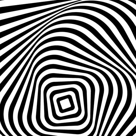 spiraling: Swirling, spiraling monochrome geometric element. Abstract graphic.
