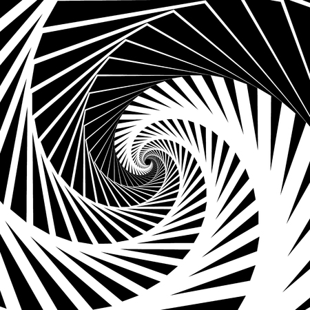 spiraling: Abstract background-pattern with spirally, vortex effect. Abstract monochrome backdrop spiraling inwards, geometric pattern