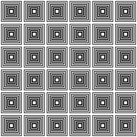 cell block: Repeatable pattern with squares. Monochrome abstract background.