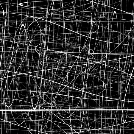 squiggly: Abstract pattern with squiggly, squiggle lines. Abstract texture with curvy intersecting lines. Artistic graphic.