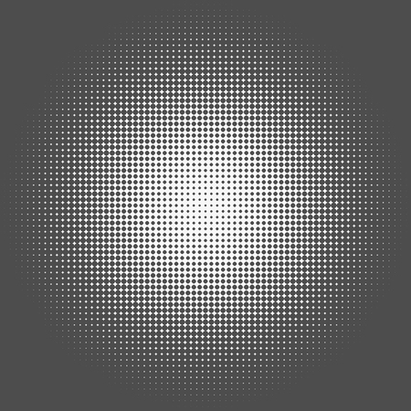 pre: Abstract graphic: Halftone element made of 4-point stars