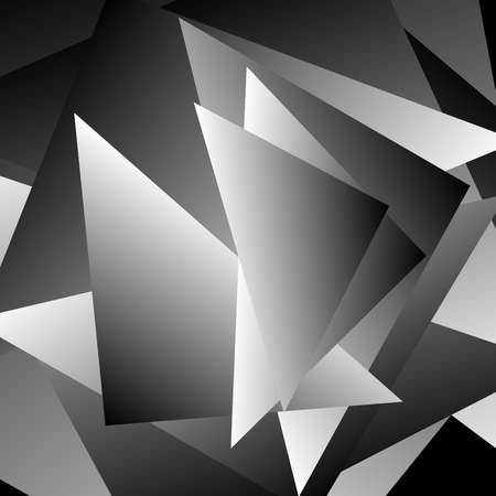 edgy: Abstract artistic image with triangular, geometric forms. Angular, edgy artistic image.