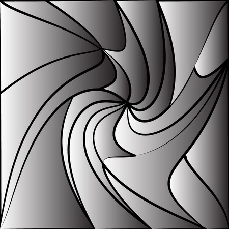 distorted: Monochrome tessellating background. Abstract distorted pattern, geometric texture