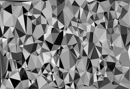 bw: Tessellating random triangles pattern, background fitting space perfectly