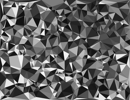 shards: Tessellating random triangles pattern, background fitting space perfectly
