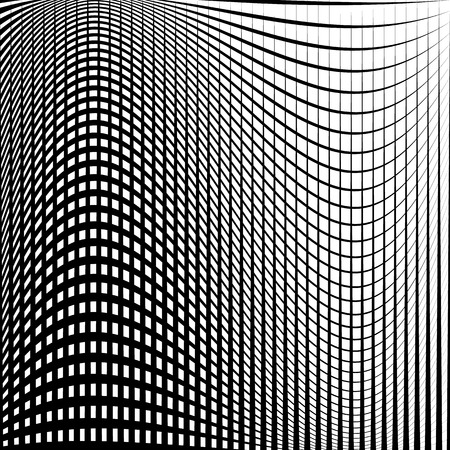 tweak: Distorted abstract grid, mesh background. Intersecting lines, abstract cellular grid pattern. Reticulated, cellular texture.