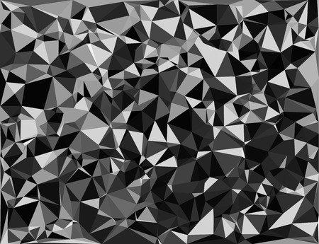 perfectly: Tessellating random triangles pattern, background fitting space perfectly
