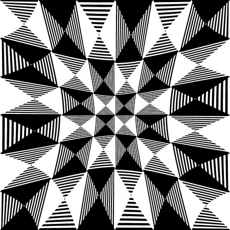 checkered pattern: Abstract liny, checkered pattern with distortion effect