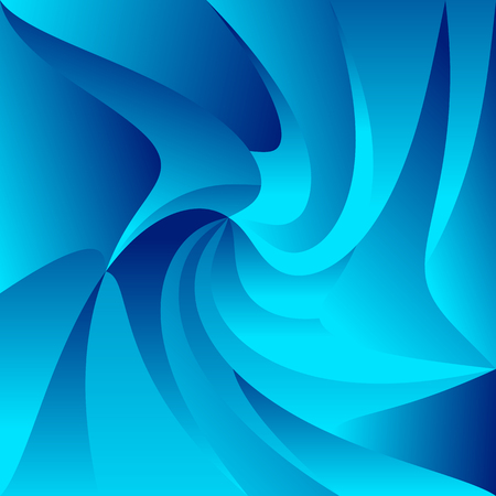 tweak: Swirly, spirally colorful background. Triangular shapes with distortion effect. Illustration